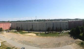 Baufeld - Neubau ehem O.-R.-Str. 1-11 (06.06.2018)