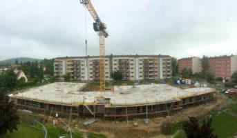 Fertigstellung Rohdecke 1. OG (06.06.2019)