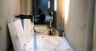 Innenansicht - Flur Wohnungen WBG im OG (22.01.2020)