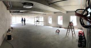Innenansicht - WBG-Lounge / Quartierscafé (25.05.2020)