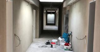 Innenansicht - Flur Wohnungen WBG im OG (28.04.2020)