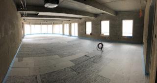 Innenansicht - WBG-Lounge / Quartierscafé (01.05.2020)