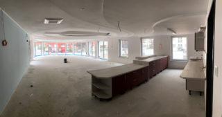 Innenansicht - WBG-Lounge / Quartierscafé (03.08.2020)