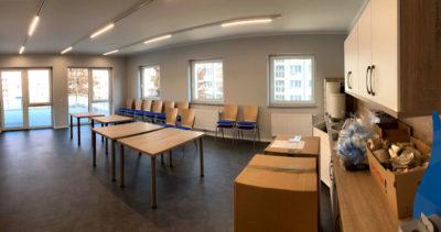 Innenansicht - Mitarbeiterraum Sozialstation Johanniter (16.09.2020)