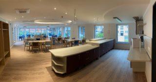 Innenansicht - WBG-Lounge / Quartierscafé (01.09.2020)